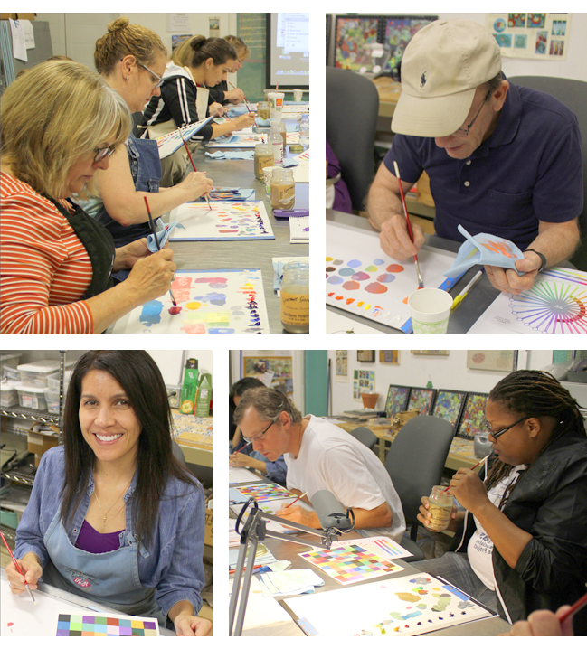 Group Art Oil Painting Classes