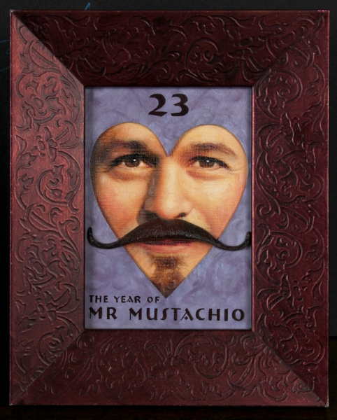 Year 23 Mr. Mustachio
