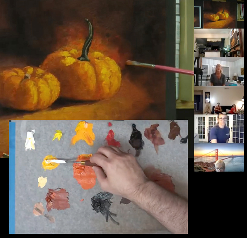 Online Painting Lesson Classes